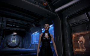 Shepard in her new Casual outfit.